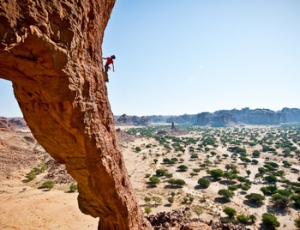 North Face Climbing expedition, Chad, Africa