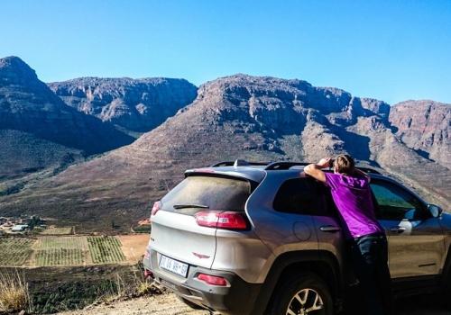 A rock safari in South-Africa